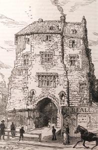 The Black Gate in 1877