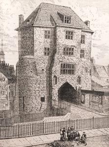 The Black Gate in 1887