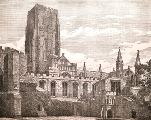 Durham Cathedral - From College Green