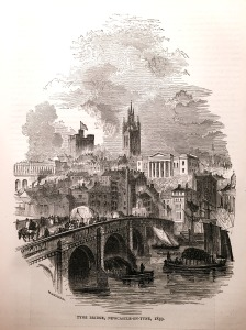 Tyne Bridge - Newcastle-on-Tyne - 1859