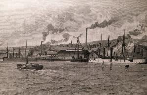 Elswick Works, Newcastle-on-Tyne, 1889