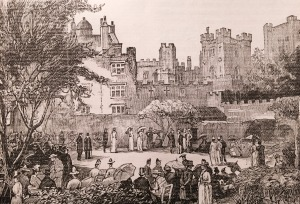 Garden Party in the Castle Grounds
