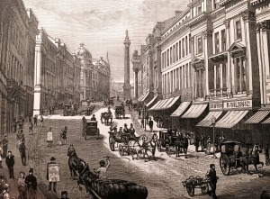 Grey Street, Newcastle-on-Tyne, 1889