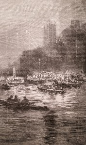 Procession of Boats on the Wear