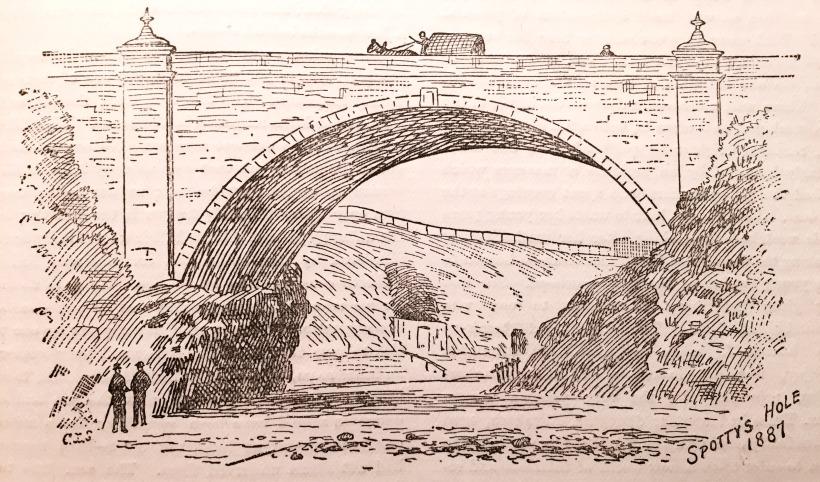 Spottys Hole, 1887 (2)
