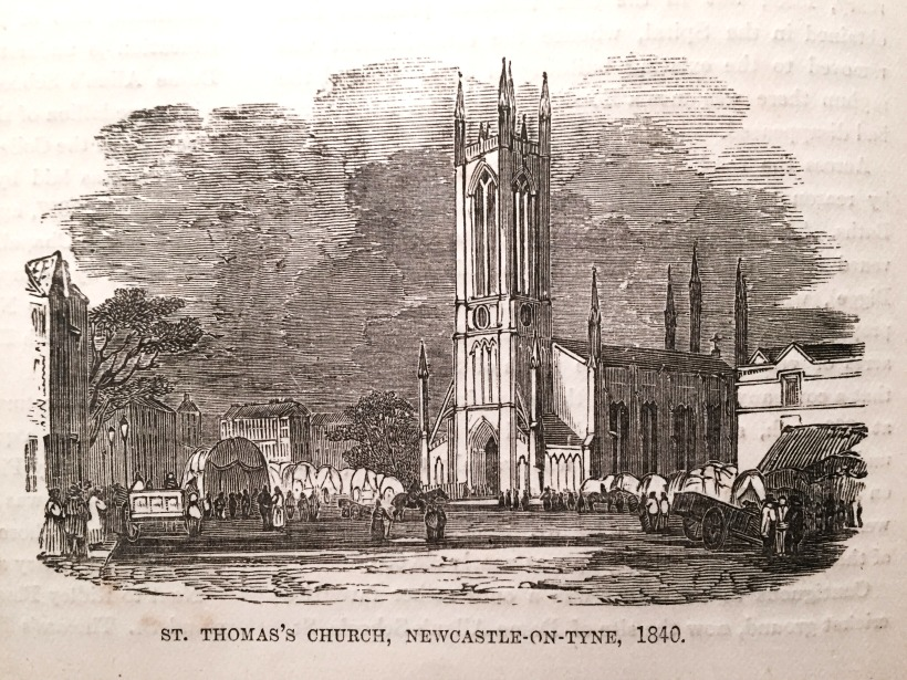St Thomas's Church, Newcastle-On-Tyne, 1840