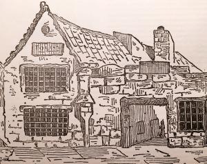 The Fighting Cocks Yard, Bigg Market, Newcastle, 1846