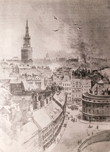 View of Sandhill, Newcastle, 1888
