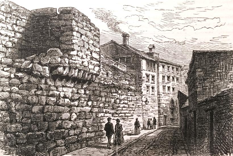 Wall Turret Near St.Andrews Church