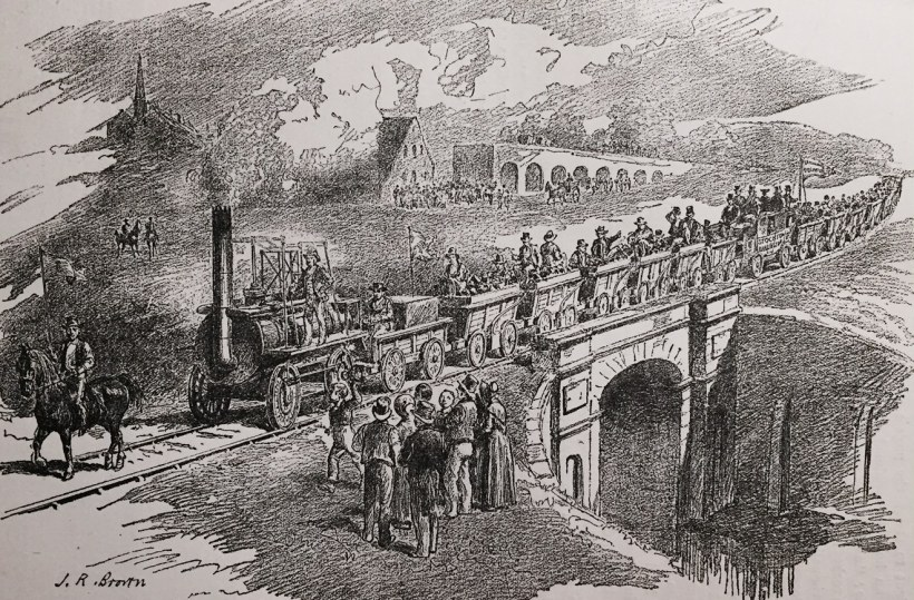 Opening of Stockton and Darlington Railway - September 27th 1825