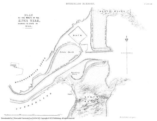 River Wear Plan 1846