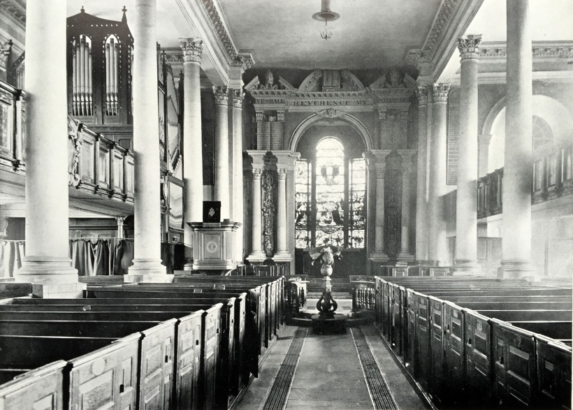Sunderland Parish Church Interior