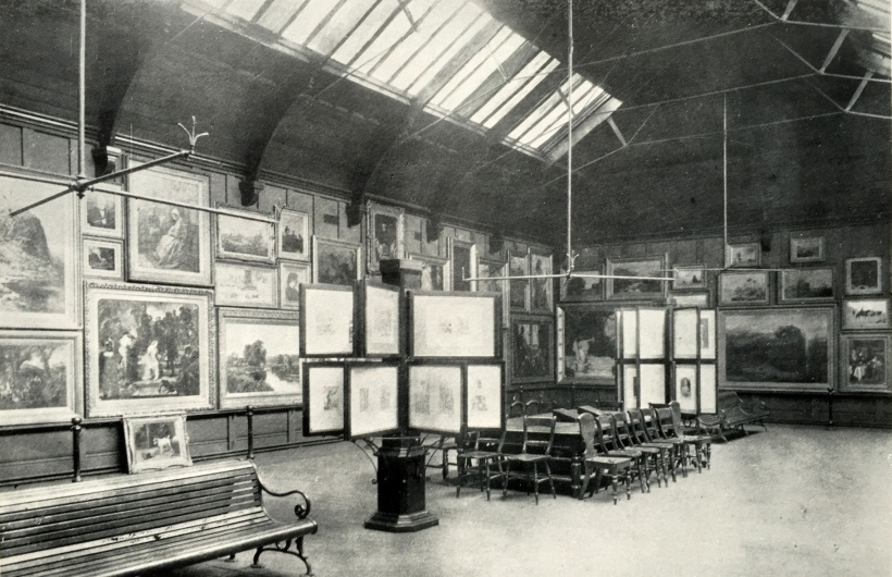The Art Gallery in the Museum
