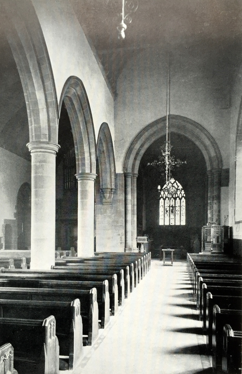 The Parish Church Monkwearmouth Interior