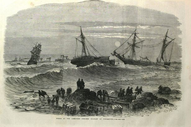 Wreck of the Stanley 2